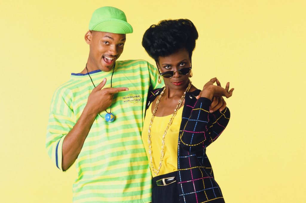 Aunt Viv and Will Smith